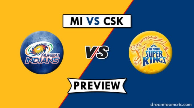 MI vs CSK Dream11