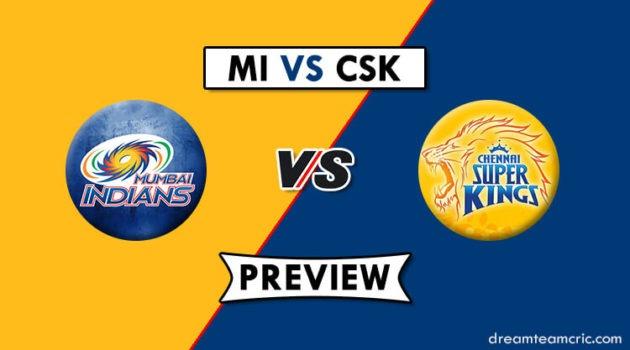 MI vs CSK Dream11
