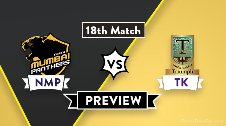 NMP vs TK Dream11