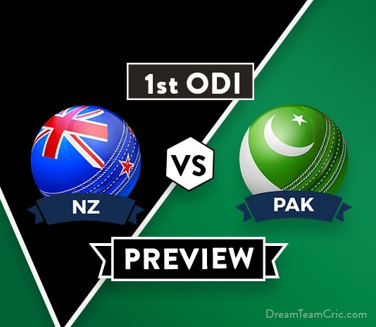 NZ vs PAK 1st ODI Dream11 Team Prediction and Probable XI: Preview