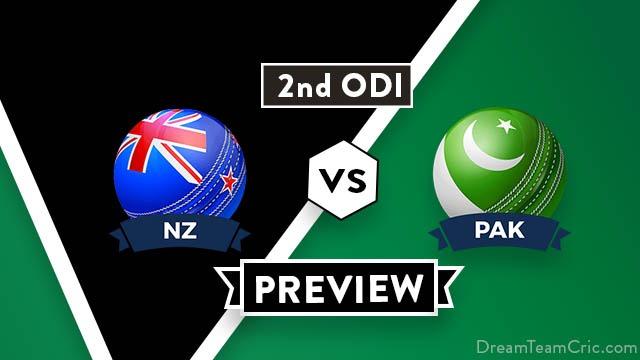 NZ vs PAK 2nd ODI Dream11 Team Prediction and Probable XI: Preview