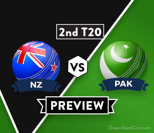 NZ vs PAK 2nd T20 Dream11 Team Prediction and Probable XI: Preview