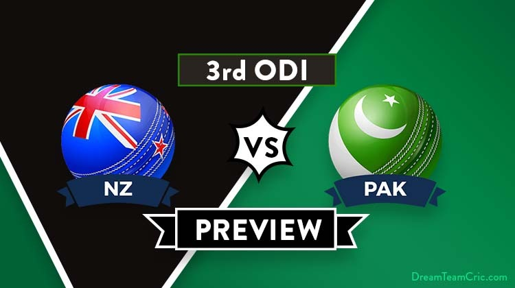 NZ vs PAK 3rd ODI Dream11 Prediction: Preview  Imam Ul Haq is fit