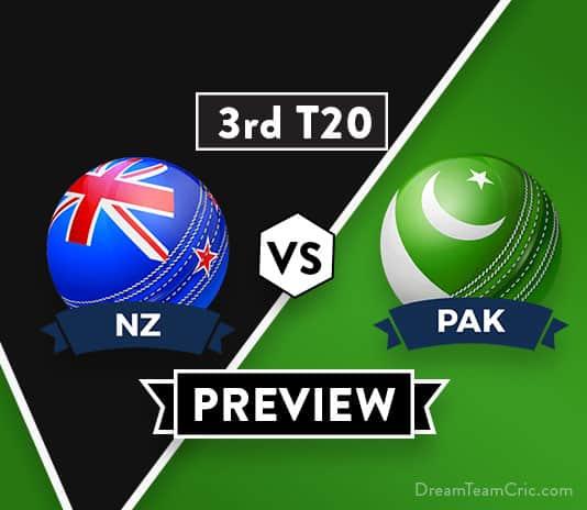 NZ vs PAK 3rd T20 Dream11 Team Prediction: Preview   Unstoppable Pakistan