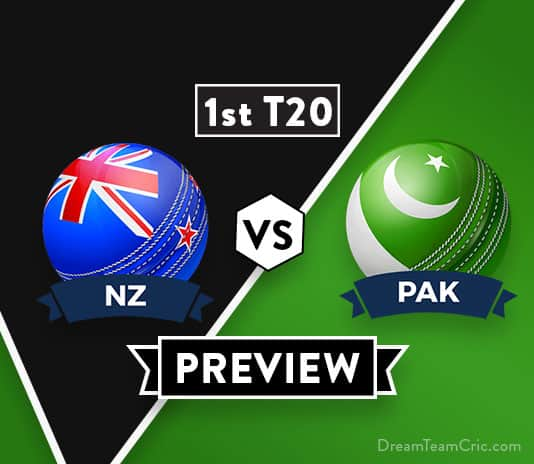 NZ vs PAK 1st T20 Dream11 Team Prediction: Preview | Fakhar Zaman will not play