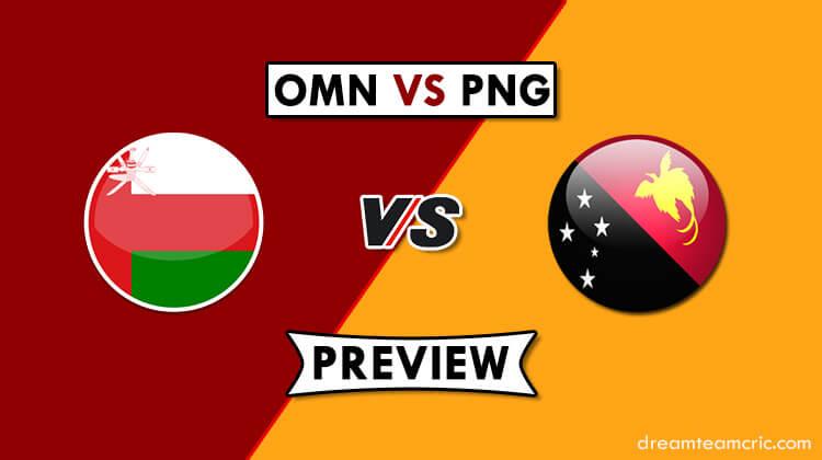 OMN VS PNG Dream11