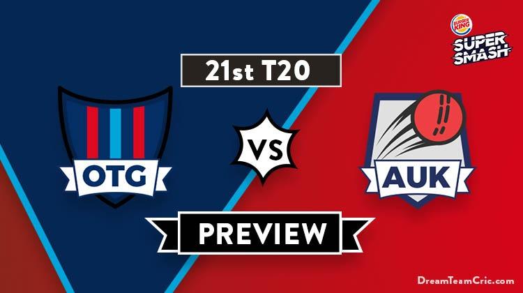 OTG vs AUK Dream 11 Team