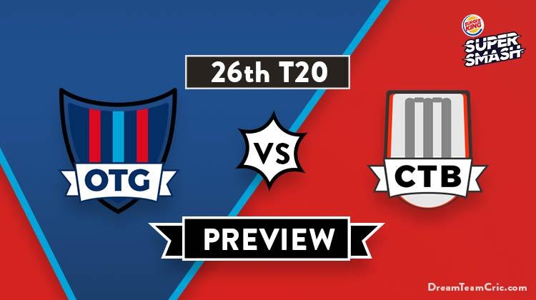 OTG vs CTB Dream11 Team
