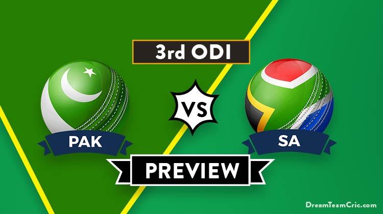 PAK vs SA Dream11