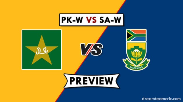 PK-W VS SA-W Dream11
