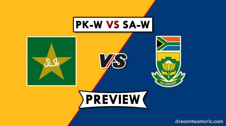PK-W VS SA-W Dream11