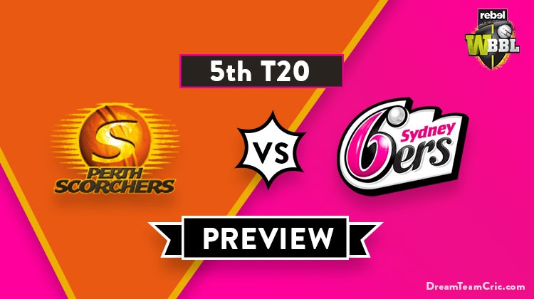 Perth Scorchers vs Sydney Sixers Dream11