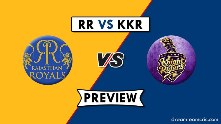KKR vs RR Dream11