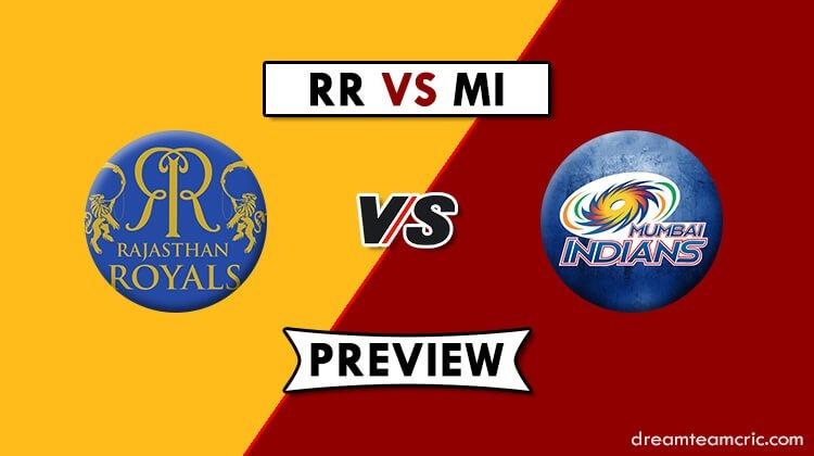 RR vs MI Dream11