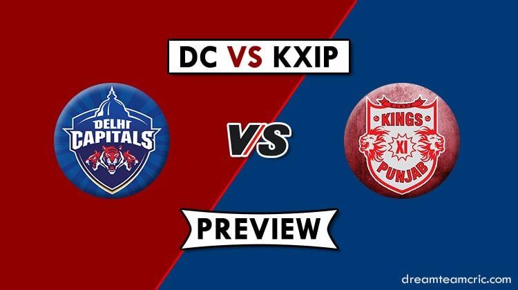 DC vs KXIP Dream11
