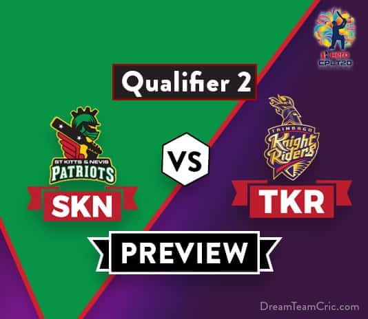 SKN vs TKR Dream 11 Team Prediction and Probable XI: Preview| One step away from Final