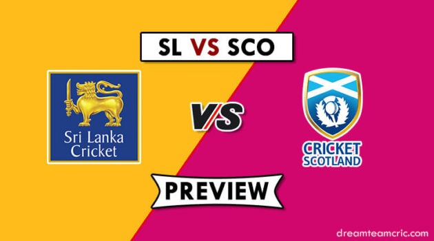 SL VS SCO Dream11