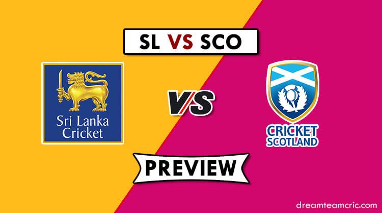 SL VS SCO Dream11