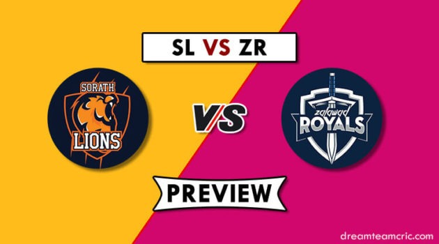 SL VS ZR Dream11