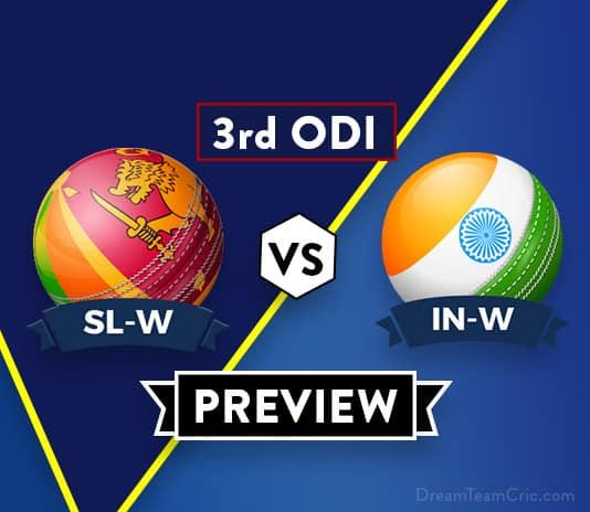 SL-W VS IN-W 3rd ODI Dream11 Team Prediction and probable XI: Preview