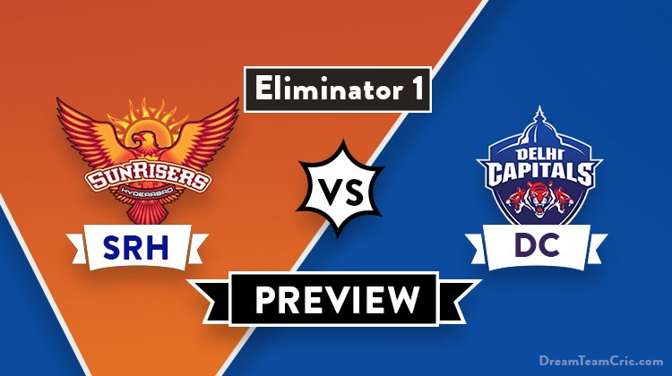 SRH vs DC Dream11