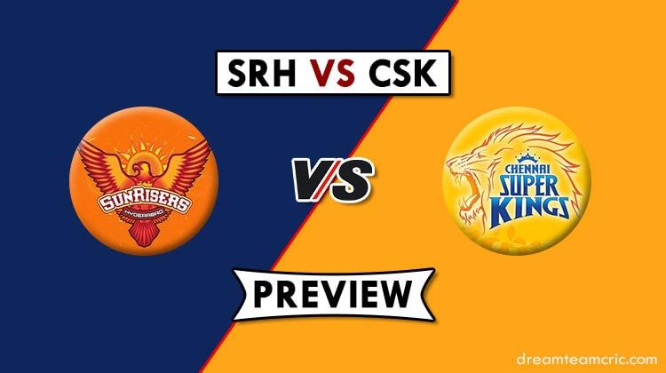 SRH vs CSK Dream11