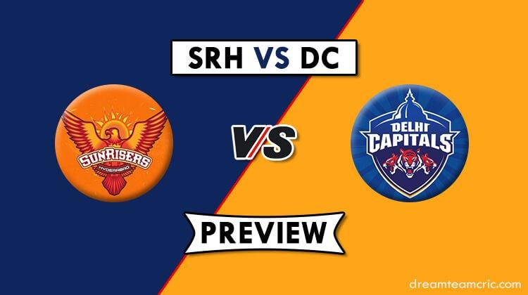 SRH vs DC Dream11