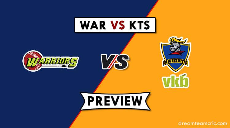 WAR VS KTS Dream11