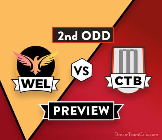 WEL vs CTB 2nd ODD Dream11 Team Prediction of The Ford Trophy 2018: Preview